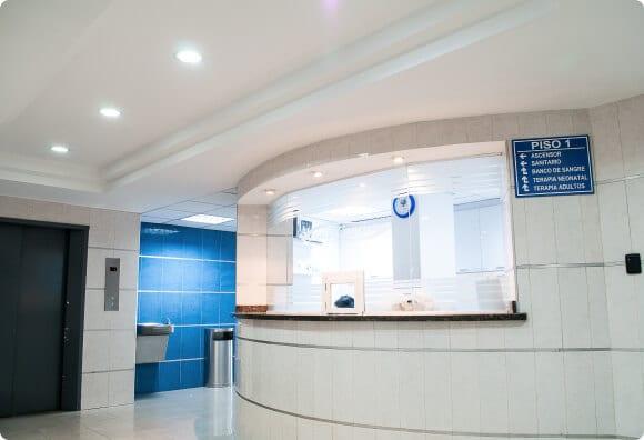 vet office